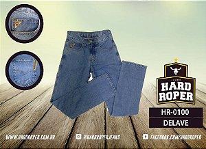 Calça Jeans Hard Hoper Masc. Tradicional Delavê