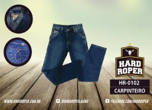 Calça Jeans Hard Hoper Masc. Carpinteira