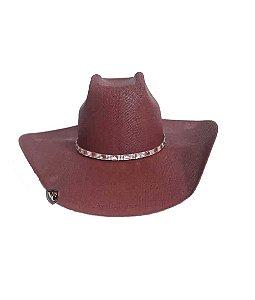 Chapéu Dallas Arizona Juda Bordô 1330