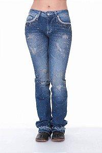 Calça Jeans Zenz Western Aerosmith Zw0218002