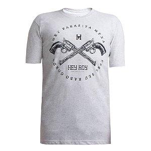 Camiseta Hey Roy Masculina Mescla 1005