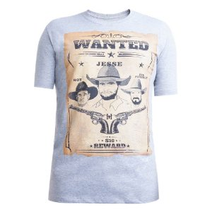 Camiseta Hey Roy Masculina Mescla 1009