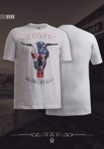 Camiseta Ox Horns Masculina Mescla 1111