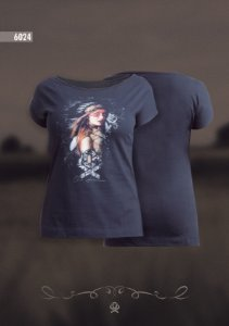 Camiseta Ox Horns Feminina Preta 6024