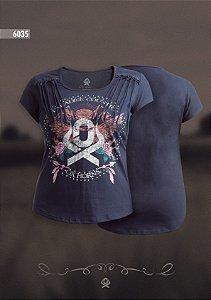 Camiseta Ox Horns Feminina Preta 6035