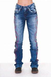 Calça Jeans Zenz Western Angels Precious Zw0318001
