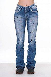 Calça Jeans Zenz Western Happy Zw0318010