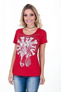 T-Shirt Zenz Western Red Velvet Zw0318025