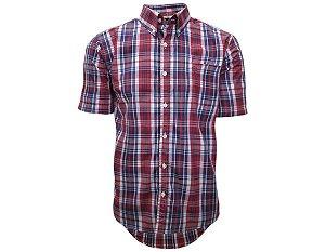 Camisa Tuff Masculina Vermelha E Azul 1023C