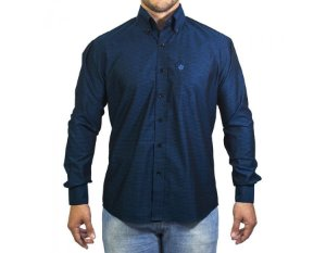 Camisa Tuff Masculina Azul Marinho 1039L