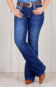 Calça Jeans Os Vaqueiros Feminina Flare 3031