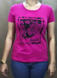 Camiseta All Hunter Silk Machine Rosa 584