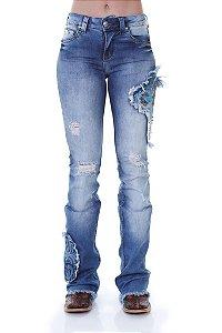 Calça Jeans Zenz Western Rodeo Zw0119007