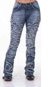 Calça Jeans Zenz Western Giraffe Zw0319023