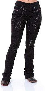 Calça Jeans Zenz Western Black Panther Zw0319014