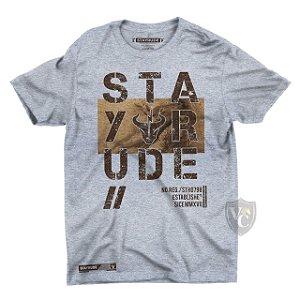 Camiseta Stay Rude Masculina Mescla 1010