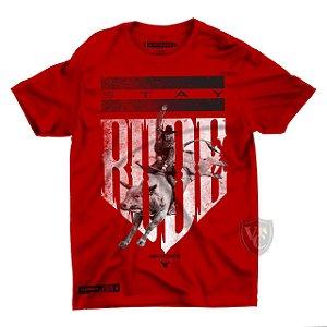Camiseta Stay Rude Masculina Vermelho 1016