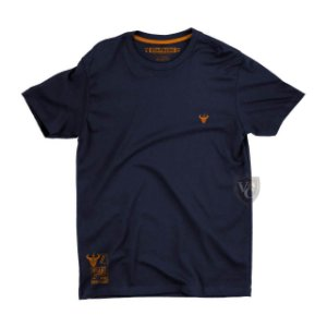 Camiseta Stay Rude Masculina Basica Azul Marinho Stb010