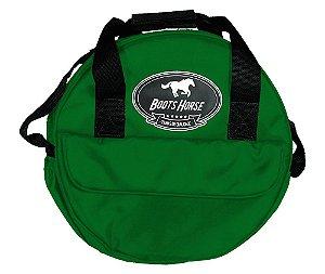 Bolsa Boots Horse Laco Comprido Verde Escuro