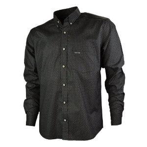 Camisa Manga Longa Xadrez Gringa Black