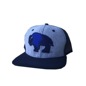 Bone Tatanka Bison Cinza Aba Azul Ttk100183