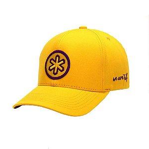 Boné Tuff Oficial Yellow Jack Logo Roxo