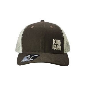 Boné King Farm Marrom