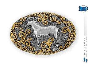 Fivela Sumetal Cavalo Crioulo 9822F