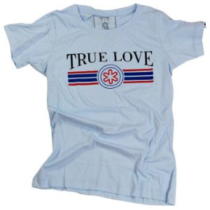 Camiseta Tuff Fem. Azul Bebe True Love 1207