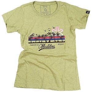 Camiseta Tuff Fem. Mostarda Malibu 1213