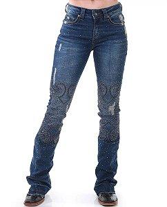 Calça Jeans Zenz Western Hippie ZW0120056