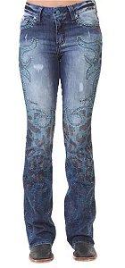 Calça Jeans Zenz Western Guepardo ZW0419030
