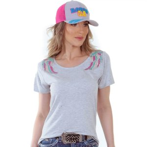 Camiseta Zenz Western Pin Up ZW0120039