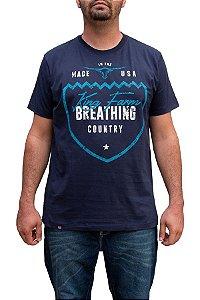 Camiseta King Farm Masculina Azul Marinho