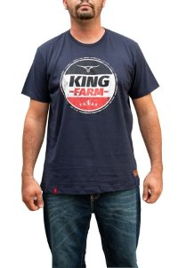 Camiseta King Farm Masculina Azul Marinho GCM108