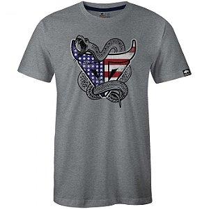 Camiseta Gringa Gunmetal Mescla 0419106