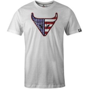 Camiseta Gringa Usa Shooter Branco 0519001