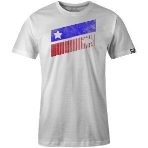 Camiseta Gringas White Texas Stripes 10040