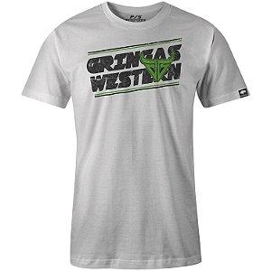 Camiseta Gringa Tubular Ring Spun White 6050