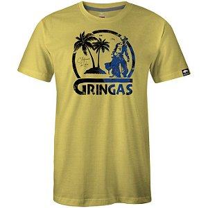 Camiseta Gringa Calif Amarelo 0719002