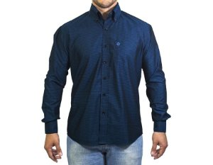 Camisa Tuff Masc ML Verde Petroleo SL1039L