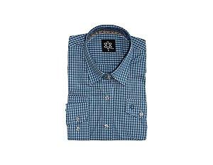 Camisa Tuff Fem ML Listrado Azul Claro Escuro SL1469