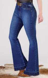 Calça Jeans Minuty Max Flare Hot Pant 19521