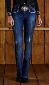 Calça Jeans Minuty Feminina Boot Cos Medio 20586