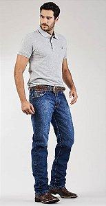 Calça Jeans Docks Pesponto Linha X 2318