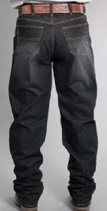 Calça Jeans Docks Black Relaxed Black 2551
