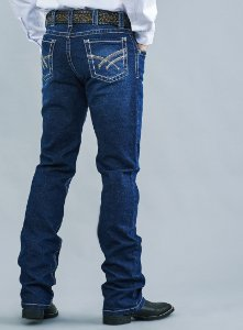 Calça Jeans Docks Pesponto Largo 2465