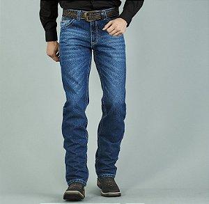 Calça Jeans Docks Filete de Couro 2383