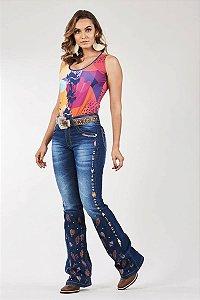 Calça Jeans Docks Elements Etnico 2616