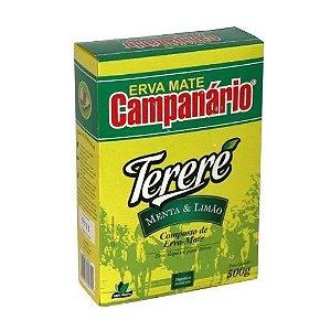 Erva Mate Tereré Campanário Menta e Limão 500g